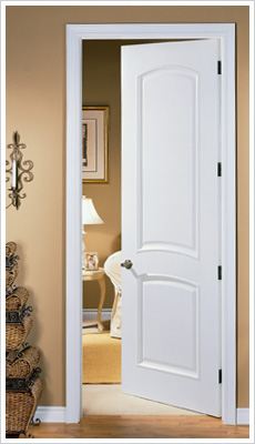 Merveilleux Molded Interior Door. Replacement Door